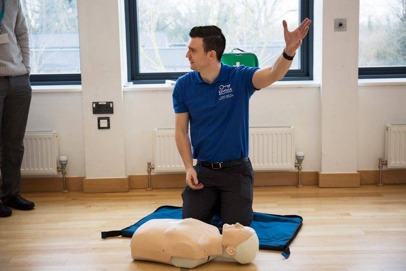 first aid qualifications